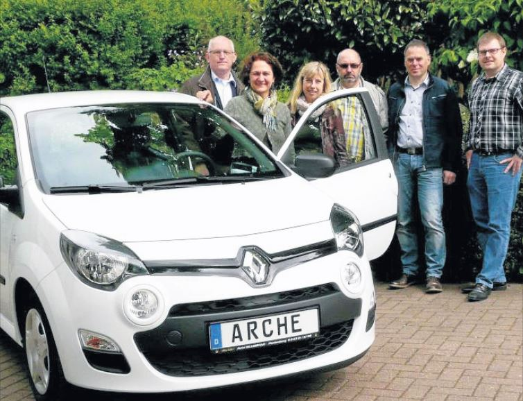 Unternehmer spenden Renault Twingo