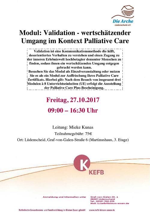 Neues Palliativ Care Modul