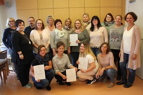 Palliativ-Care-Ausbildung erfolgreich abgeschlossen