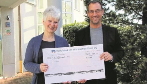 """Meding GmbH spendet für """"Die Arche"""""""