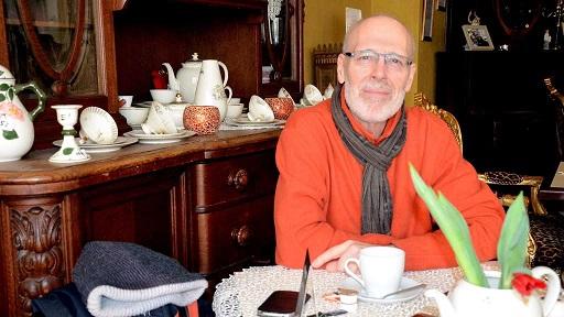 Alles andere als ein Tabu: Rolf Wacker begleitet Sterbende