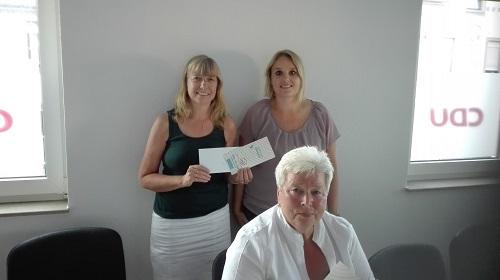 Spende der CDU Frauenunion Neuenrade