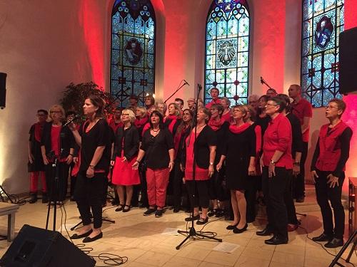 Risecorn begeistert Publikum bei wunderbarem Gospelkonzert