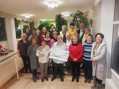 """Frauenchor """"ersingt"""" 1000 Euro für die Arche"""