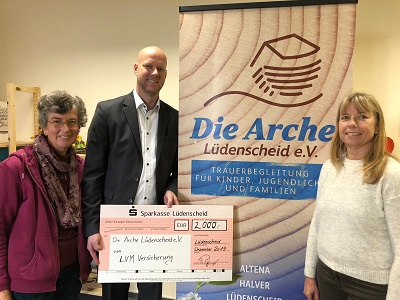 LVM-Agenturen spenden 2.000 Euro