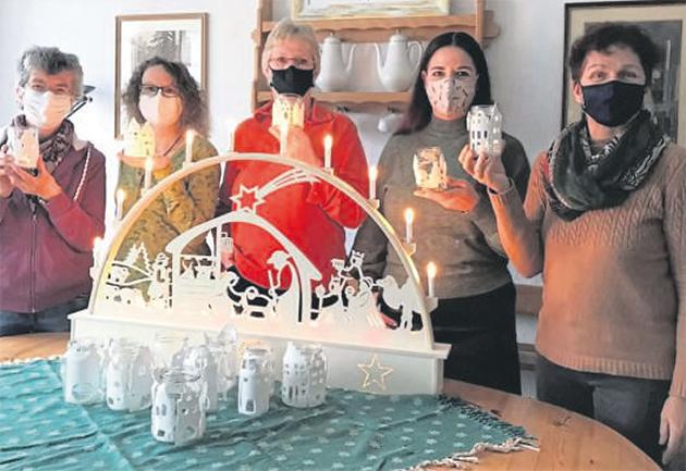 SOS-Kinderdorf übergibt Lichthäuschen an die Arche